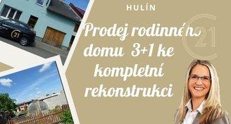 Prodej rodinného domu 3+1, Hulín
