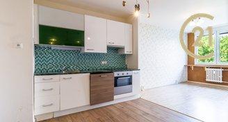 Pronájem hezkého bytu 2+kk, 38 m2, Kladno - Kročehlavy