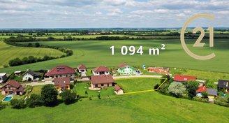 Prodej pozemku 1094 m2 v obci Úmyslovice-Poděbrady