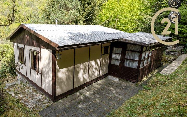 Prodej krásné chaty 36 m2, Doubravník na Vysočině