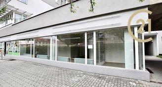 Pronájem obchodního prostoru 86m² - Zlín