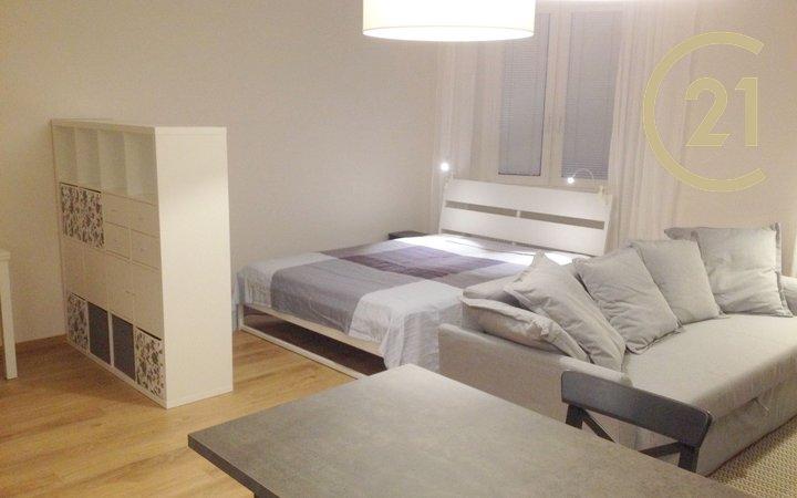 Plně zařízený velký byt 1+kk / 43 m2 po rekonstrukci