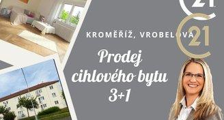 Byt 3+1, Kroměříž, Vrobelova