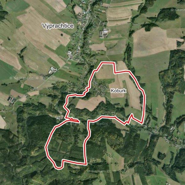 Prodej zemědělských pozemků 34 129 m², k.ú. Koburk, okres Ústí nad Orlicí