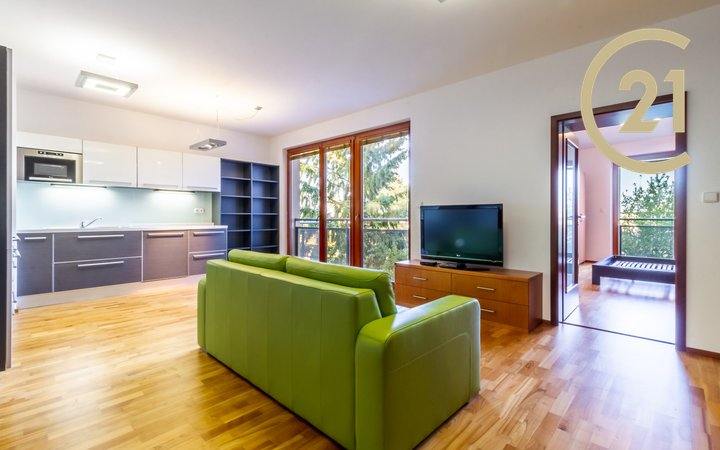 Pronájem bytu 2+kk, 62 m2 na Malvazinkách