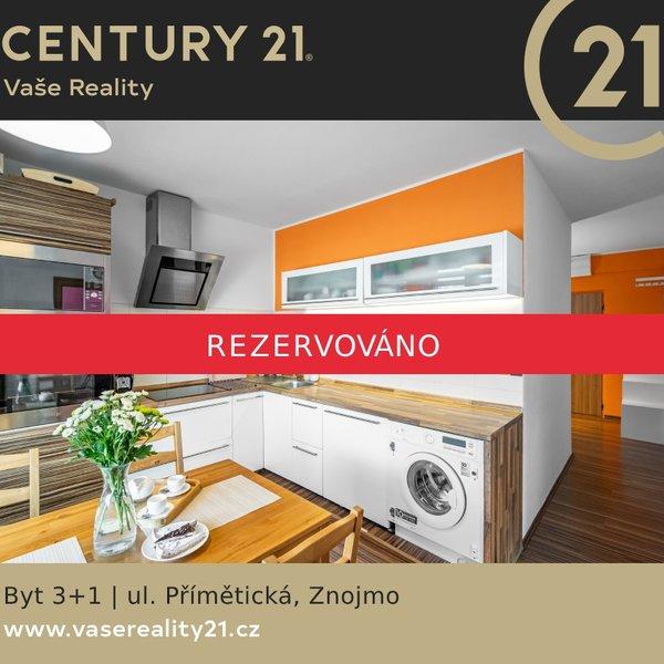 Prodej bytu 3+1 (70 m2), v centru města Znojma