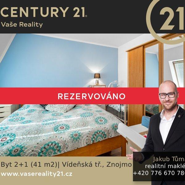 Prodej bytu 2+1, Vídeňská tř., Znojmo