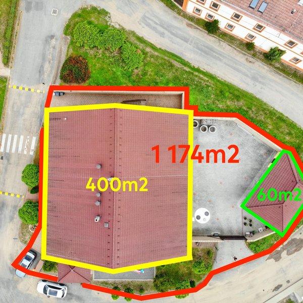 Prodej bytového domu s restaurací, 400m2, Dřetovice u Kladna
