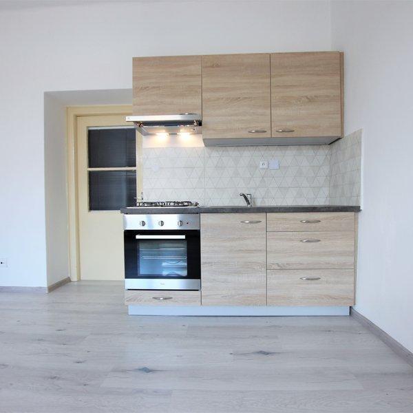 Pronájem hezkého bytu 1+kk po rekonstrukci