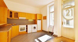 Pěkný byt s balkónem 1+kk 53 m2 na ul. Panská 6