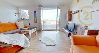 Prodej mezonetového bytu 2+kk (celková plocha 80,74 m2) s terasou