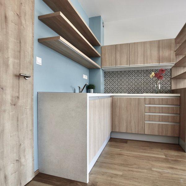 Pronájem bytu 1+kk o výměře 33m2 Brno - Komín