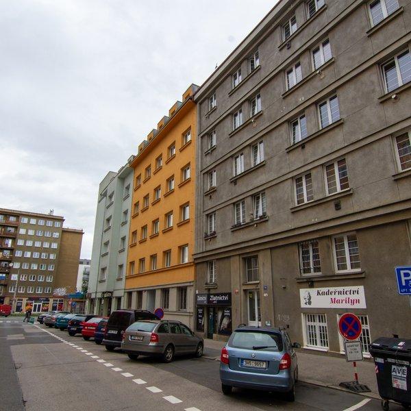 Prodej bytu 1+kk, velikost 25 m2, Praha 9 - Libeň