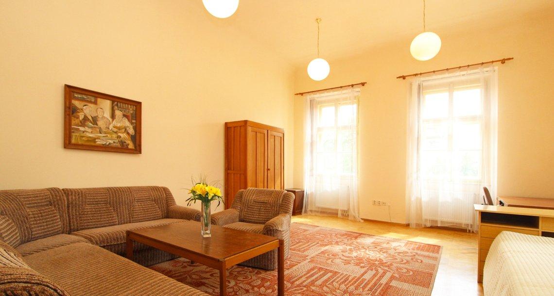 1 obývací pokoj