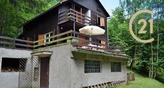 Prostorná chata v Údolí Bílého potoka