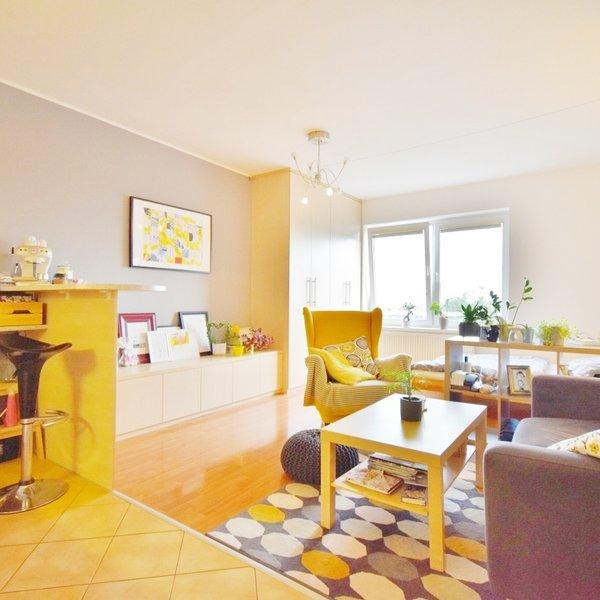 Pronájem bytu 1+kk 31 m² s terasou 9 m² - Brno - Líšeň - ul. Bednaříkova 1b