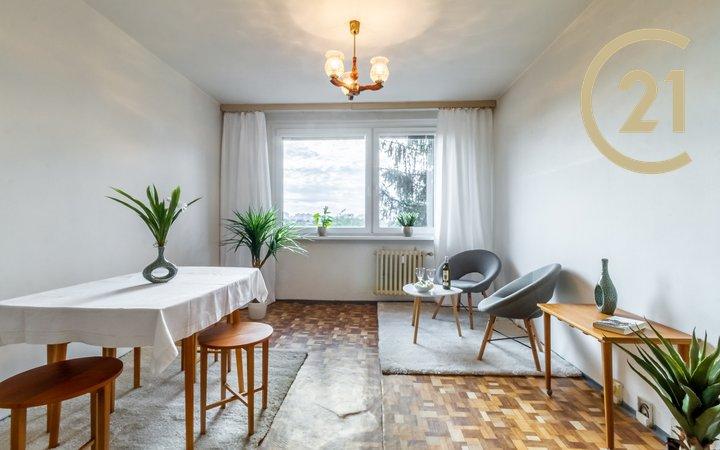 Útulný byt 2+kk, 41,50 m2, Praha 11 - Chodov.