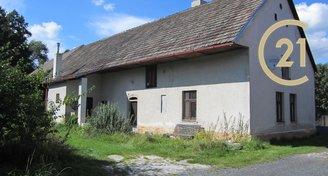 Prodej rodinného domu, chalupy ve Velešicích u Pačejova, okr. Klatovy