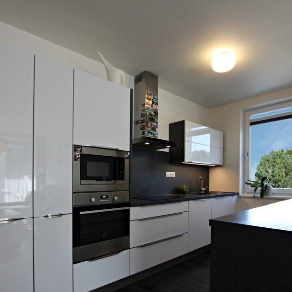 krásná novostavba bytu 3+kk (93m2) s terasou a garážovým stání,  Brno Bystrc