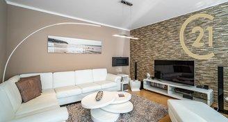 Střešní byt 3+kk/T (85 m2/47m2), Praha - Uhříněves