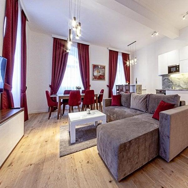 Nabídka luxusních apartmánů v srdci Mariánských Lázní