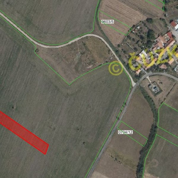 Prodej zemědělských pozemků 25 608 m², k.ú. Nesvačilka, Újezd u Brna, okres Brno-venkov