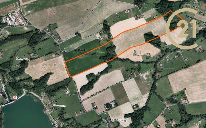 Prodej zemědělské půdy, 262035m² - Žermanice.