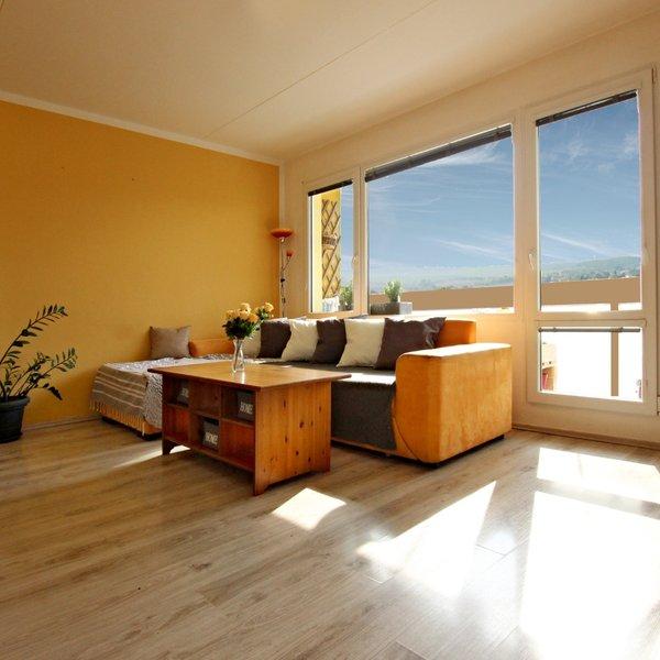 Prodej bytu slunného 3+1,  78 m2 s krásným výhledem ,Brno - Bosonožská