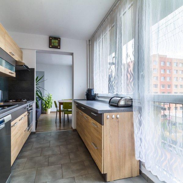 Pronájem, Byty 3+1, 70 m², ul. Ukrajinská, Kladno - Kročehlavy