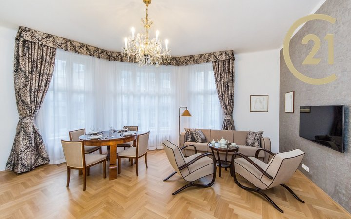 Pronájem, Byt 3+kk, 92 m² - Praha - Josefov