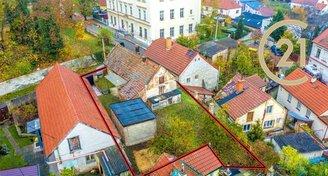 Prodej stavby k rekonstrukci, pozemek 309 m2, garáž, Praha východ - Líbeznice
