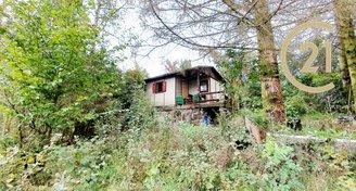 Prodej chaty v OV pozemek 329m2  Kanicích u Brna