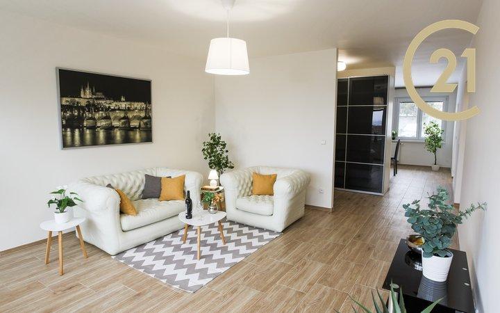 Krásný, velký byt 4+kk, 94m², garáž, 2 lodžie, OV, Praha - Krč