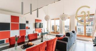 Prodej bytu 4+kk 120 m² + 42m², Suchdolské náměstí, Praha 6 - Suchdol
