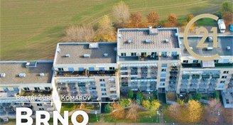 OV 2+kk, ul. bratří Žůrků, Brno-Komárov, CP 56 m2, vhodný jako startovní bydlení nebo investice