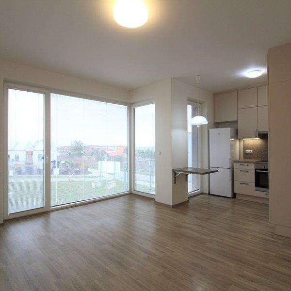 Pronájem nového bytu 1+kk s balkonem