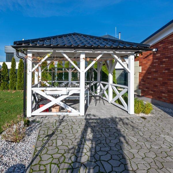 prodej, rodinné domy, novostavba rodinný dům 4+1s garáží, 220m² užitné plochy,  Jesenice, pozemek celkem 824m2