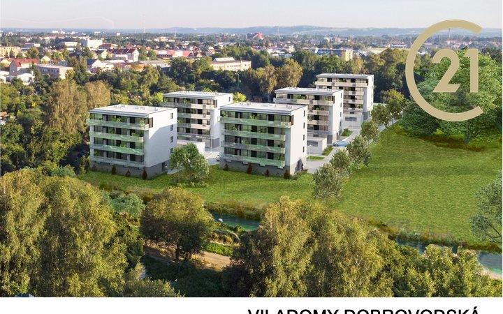 Prodej bytu 3+kk, ulice Dobrovodská, České Budějovice