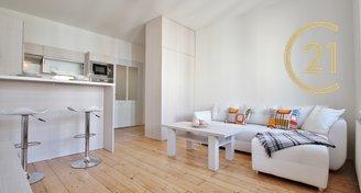 Kompletně zařízený byt 2+kk v Černých Polích