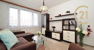 Slunný klidný byt 2+kk / 41 m2 s nízkými náklady