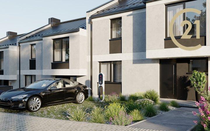 Prodej nového bytu 3+kk (70,8 m2), terasa (13,2 m2)