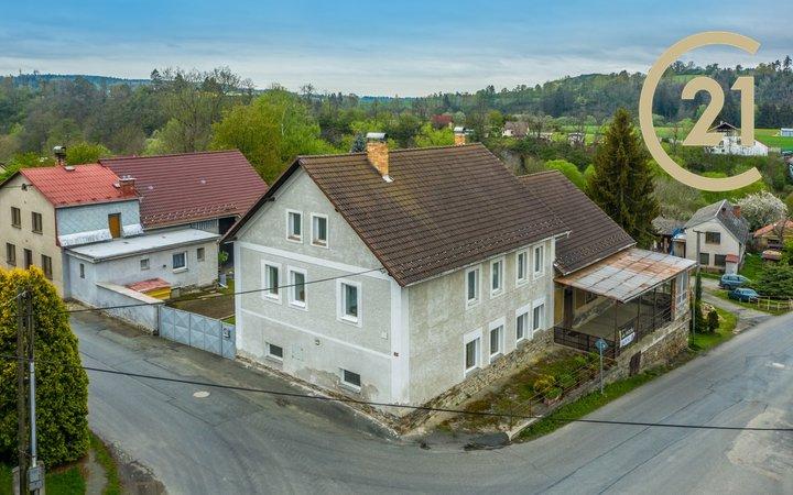 Nemovitost s bytovou jednotkou 6+2, Vlastějovice, okres Kutná Hora