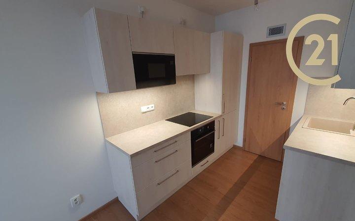 Pronájem nový byt 2+kk/B/GS, 45,5 m2+5,4 m2 Praha - Hostivař