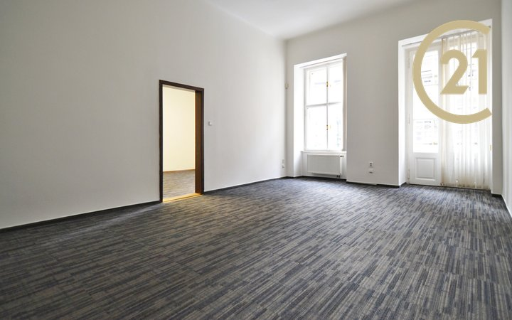 Pronájem kanceláře 54 m2 Praha 1 - Nové Město, Senovážné náměstí