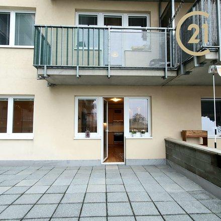 Pronájem bytu 2+kk Brno-Líšeň, ul. Sedláčkova, 41 m², terasa 50 m², sklep, přízemí