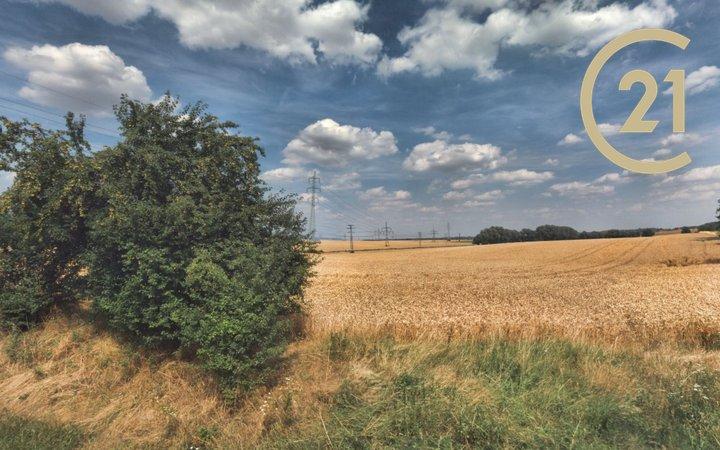 Prodej pozemku v intravilánu obce nedaleko od hranice Prahy, před změnou územního plánu, existující projekt (bydlení) 4,8ha, okr. Praha východ