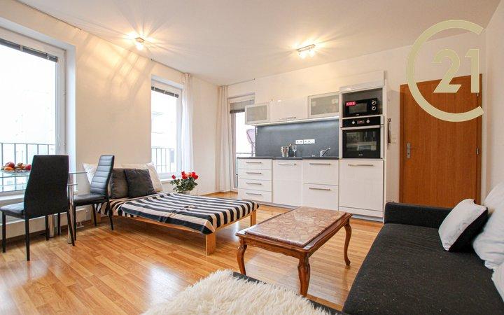 Prodej bytu 1+kk v cihlové novostavbě, 41m²