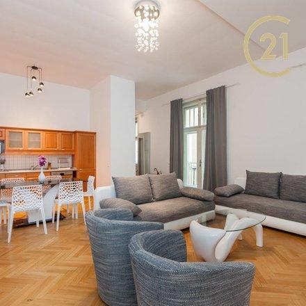 Pronájem bytu 1+kk, 48 m² - Praha 1