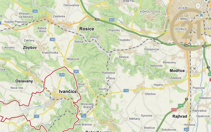 Pozemek Ivančice, obec Ivančice, Brno-venkov