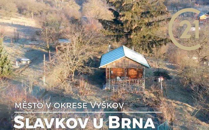 Chata Slavkov u Brna, CP 813 m2, vhodný pro individuální rekreaci